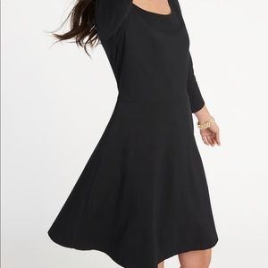 Old navy stretchy fit and flare dress
